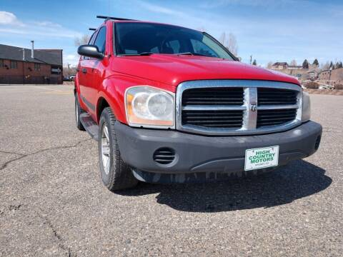 2006 Dodge Durango for sale at HIGH COUNTRY MOTORS in Granby CO