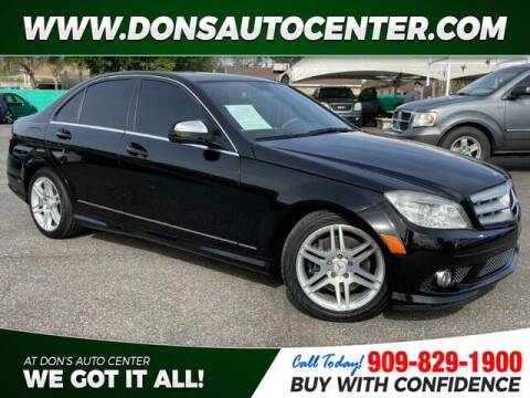 2009 Mercedes-Benz C-Class for sale at Dons Auto Center in Fontana CA