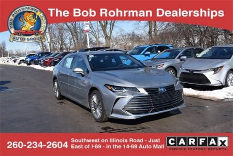 2021 Toyota Avalon Hybrid for sale at BOB ROHRMAN FORT WAYNE TOYOTA in Fort Wayne IN