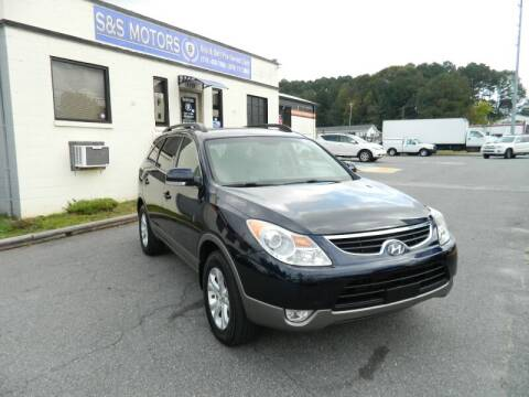 2012 Hyundai Veracruz for sale at S & S Motors in Marietta GA