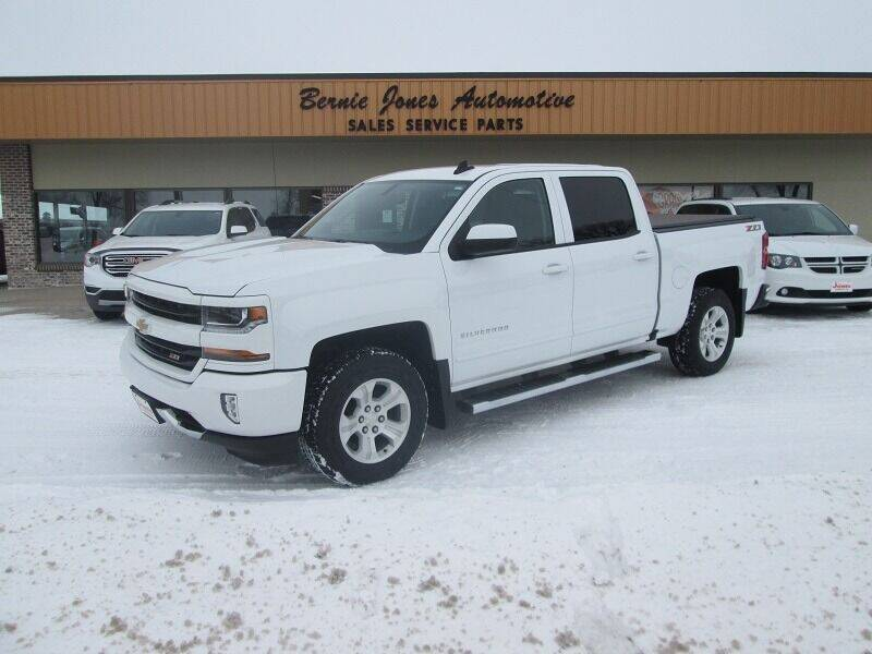 2018 Chevrolet Silverado 1500 for sale at Bernie Jones Auto in Cambridge NE