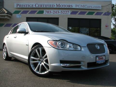 2010 Jaguar XF for sale at Prestige Certified Motors in Falls Church VA