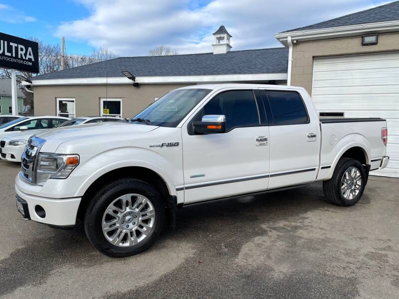 2013 Ford F-150 for sale at Ultra Auto Center in North Attleboro MA