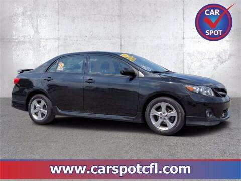 2012 Toyota Corolla for sale at Car Spot Of Central Florida in Melbourne FL