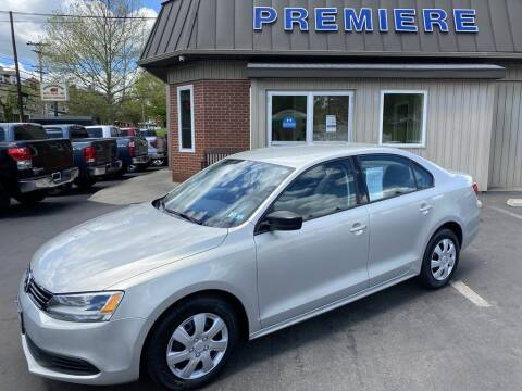 2012 Volkswagen Jetta for sale at Premiere Auto Sales in Washington PA