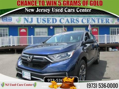 2020 Honda CR-V for sale at New Jersey Used Cars Center in Irvington NJ