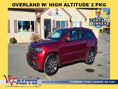 2018 Jeep Grand Cherokee for sale at V & F Auto Sales in Agawam MA