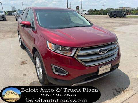 2018 Ford Edge for sale at BELOIT AUTO & TRUCK PLAZA INC in Beloit KS