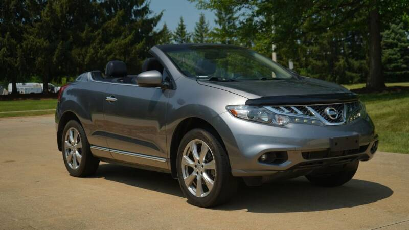 2014 Nissan Murano CrossCabriolet for sale at Grand Financial Inc in Solon OH