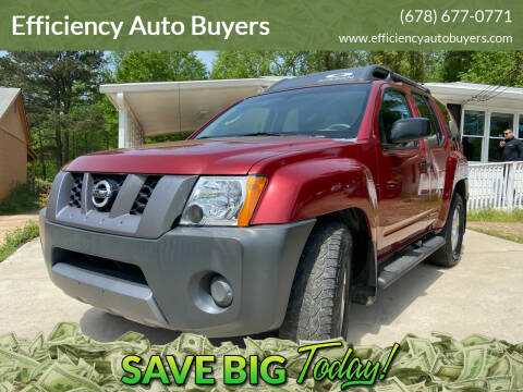 2008 Nissan Xterra for sale at Efficiency Auto Buyers in Milton GA