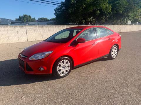 2012 Ford Focus for sale at A & R Auto Sale in Sterling Heights MI