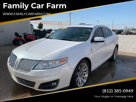 2011 Lincoln MKS for sale at Family Car Farm in Princeton IN