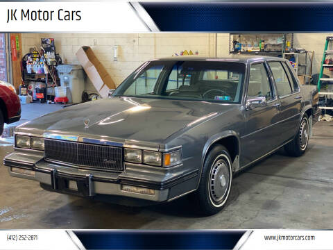 1985 Cadillac DeVille for sale at JK Motor Cars in Pittsburgh PA