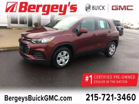 2017 Chevrolet Trax for sale at Bergey's Buick GMC in Souderton PA