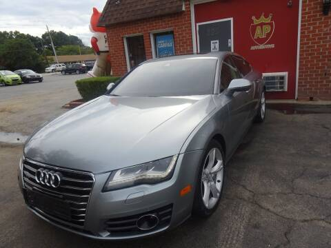2012 Audi A7 for sale at AP Automotive in Cary NC