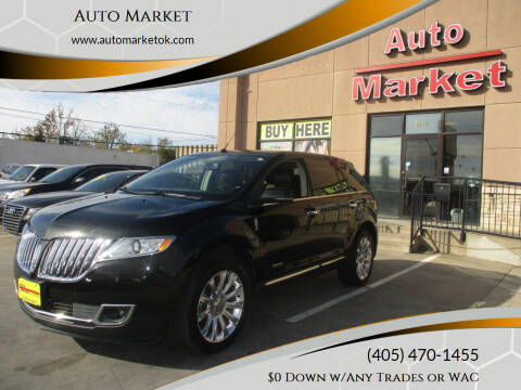 2013 Lincoln MKX for sale at Auto Market in Oklahoma City OK