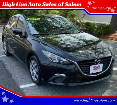 2016 Mazda MAZDA3 for sale at High Line Auto Sales of Salem in Salem NH