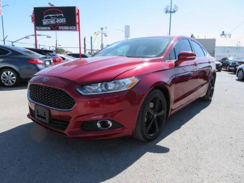 2016 Ford Fusion for sale at Moving Rides in El Paso TX