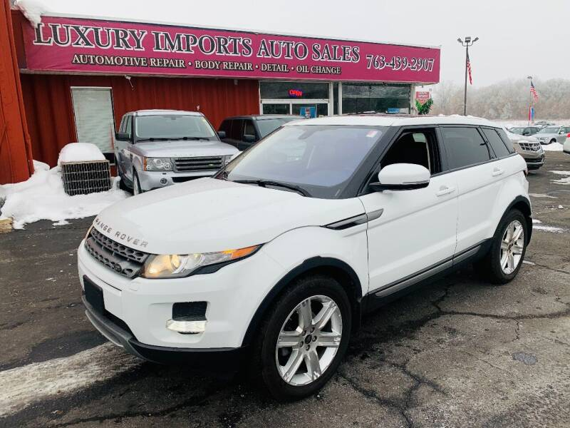 2013 Land Rover Range Rover Evoque for sale at LUXURY IMPORTS AUTO SALES INC in North Branch MN