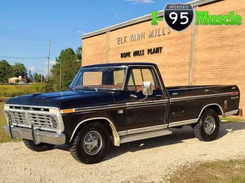 1975 Ford F-100 for sale at I-95 Muscle in Hope Mills NC