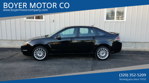 2010 Ford Focus for sale at BOYER MOTOR CO in Sauk Centre MN