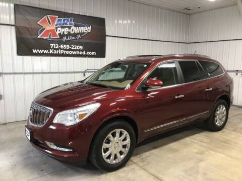 2015 Buick Enclave for sale at Karl Pre-Owned in Glidden IA