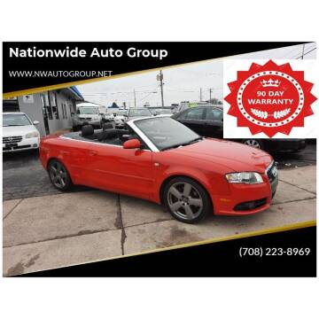 2008 Audi A4 for sale at Nationwide Auto Group in Melrose Park IL