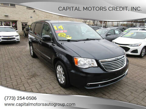 2014 Chrysler Town and Country for sale at Capital Motors Credit, Inc. in Chicago IL