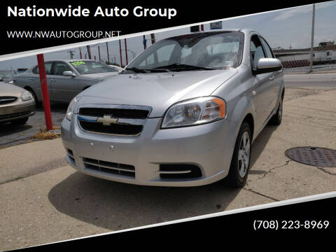 2007 Chevrolet Aveo for sale at Nationwide Auto Group in Melrose Park IL