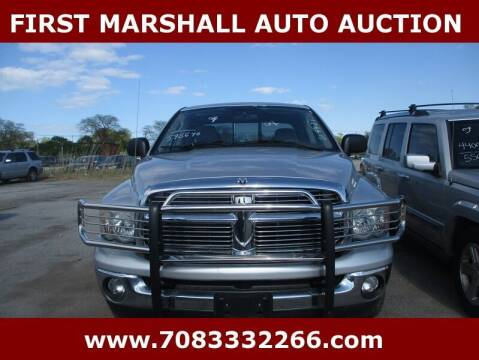 2004 Dodge Ram Pickup 1500 for sale at First Marshall Auto Auction in Harvey IL