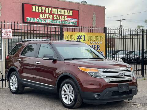 2015 Ford Explorer for sale at Best of Michigan Auto Sales in Detroit MI