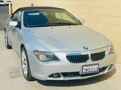 2006 BMW 6 Series for sale at Auto Zoom 916 Rancho Cordova in Rancho Cordova CA