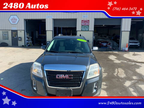 2010 GMC Terrain for sale at 2480 Autos in Kenmore NY