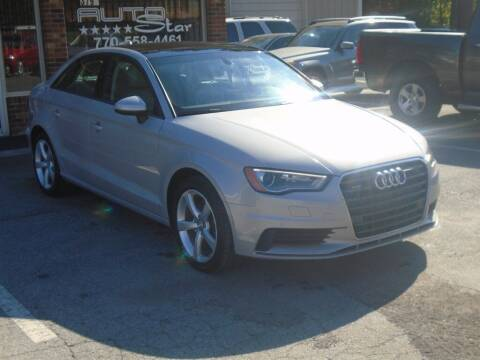 2016 Audi A3 for sale at AutoStar Norcross in Norcross GA
