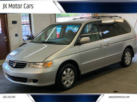 2002 Honda Odyssey for sale at JK Motor Cars in Pittsburgh PA