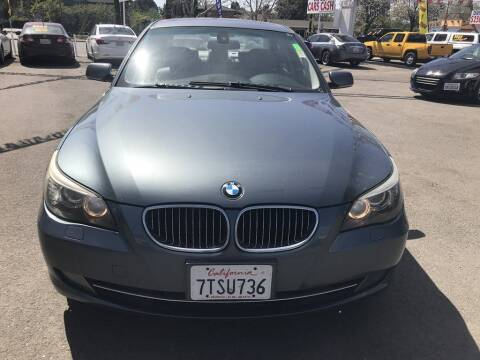 2010 BMW 5 Series for sale at EXPRESS CREDIT MOTORS in San Jose CA