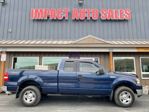 2005 Ford F-150 for sale at Impact Auto Sales in Wenatchee WA