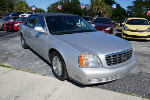 2002 Cadillac DeVille for sale at J Linn Motors in Clearwater FL