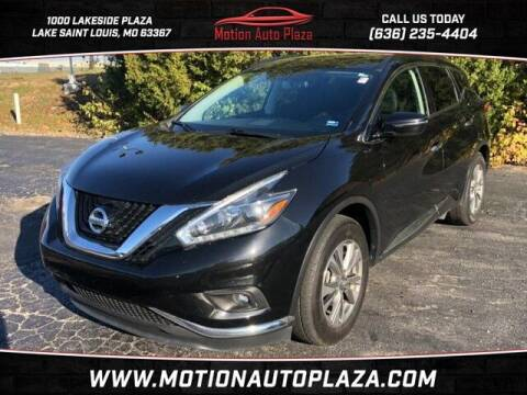 2018 Nissan Murano for sale at Motion Auto Plaza in Lakeside MO