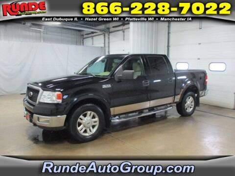 2004 Ford F-150 for sale at Runde Chevrolet in East Dubuque IL