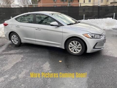 2017 Hyundai Elantra for sale at Warner Motors in East Orange NJ