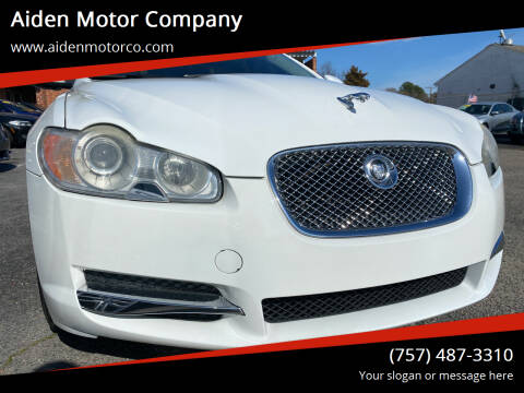 2011 Jaguar XF for sale at Aiden Motor Company in Portsmouth VA