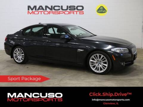 2012 BMW 5 Series for sale at Mancuso Motorsports in Glenview IL