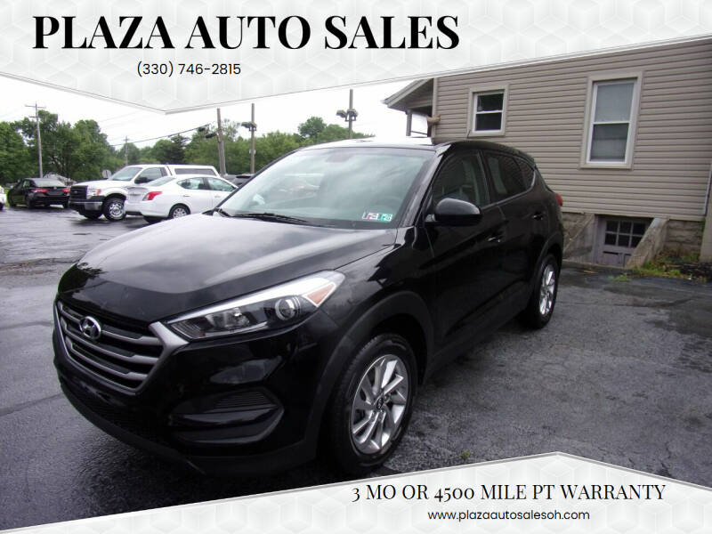 2018 Hyundai Tucson for sale at Plaza Auto Sales in Poland OH