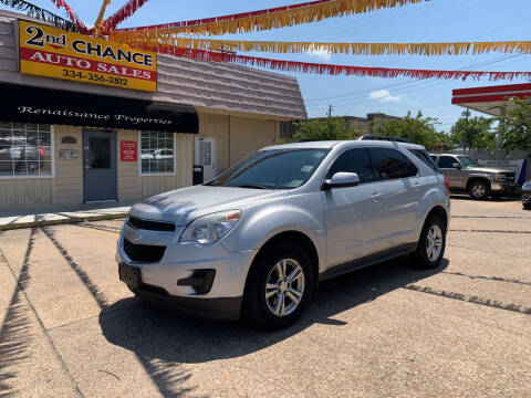 2015 Chevrolet Equinox for sale at 2nd Chance Auto Sales in Montgomery AL