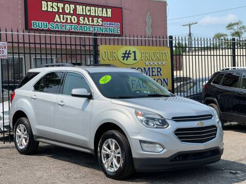 2017 Chevrolet Equinox for sale at Best of Michigan Auto Sales in Detroit MI