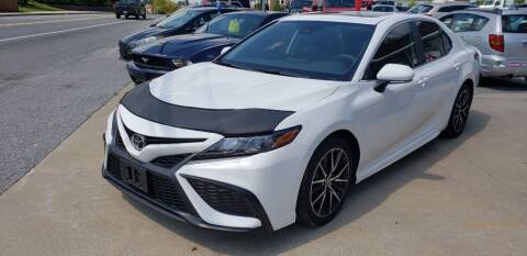2021 Toyota Camry for sale at Tower Motors in Taneytown MD