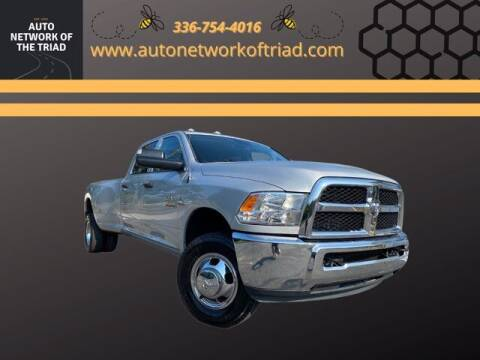 2017 RAM Ram Pickup 3500 for sale at Auto Network of the Triad in Walkertown NC
