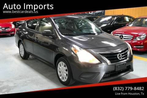 2015 Nissan Versa for sale at Auto Imports in Houston TX