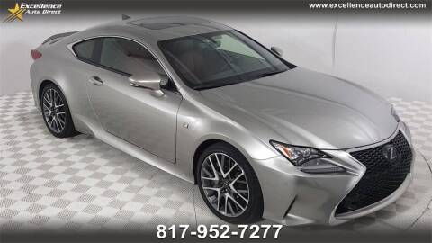 2017 Lexus RC 200t for sale at Excellence Auto Direct in Euless TX